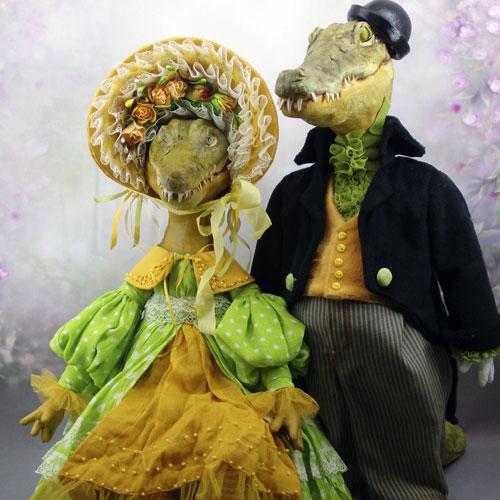 Авторские куклы Марины Корсак 3