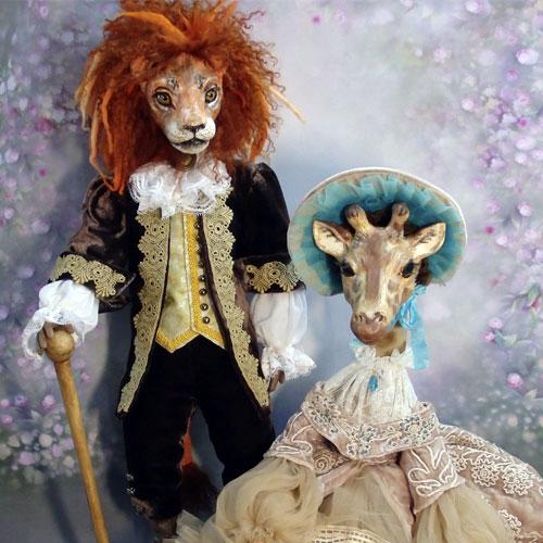 Авторские куклы Марины Корсак 4