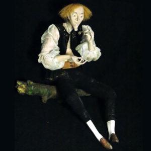 Авторская кукла «В поисках синей птицы ...» работы Марии Потепут в арт-галерее Ольги Гречухи