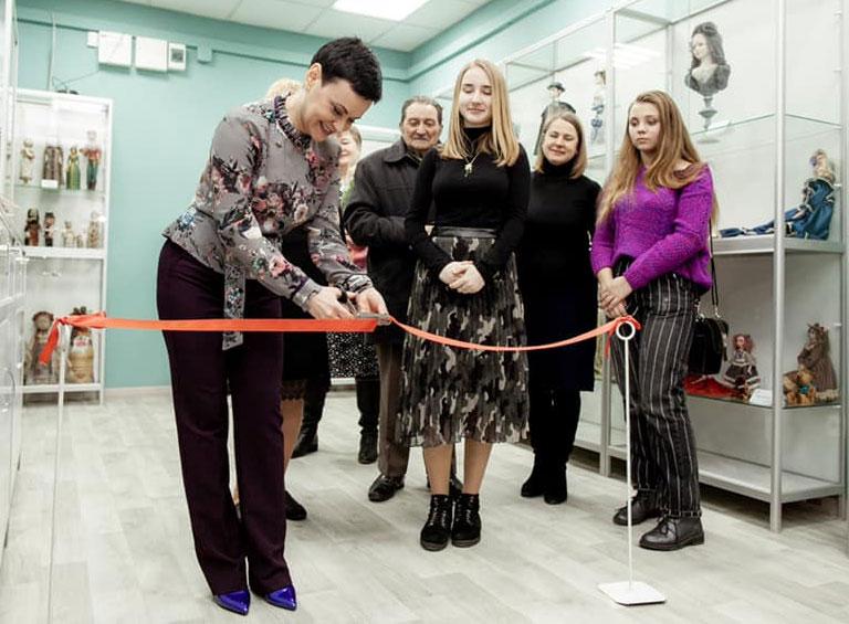 Открытие арт-галереи Ольги Гречухи 13 февраля 2019 года