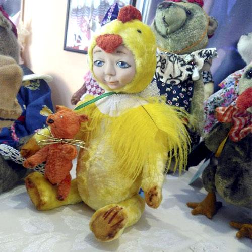 Авторские куклы-тэдди Светланы Михайленко Ципленок