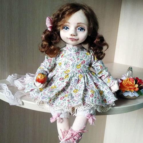 Авторские куклы Тамары Левицкой