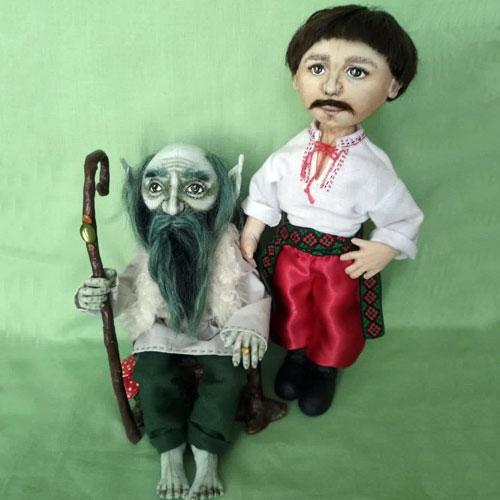 Авторские куклы Тамары Левицкой 3
