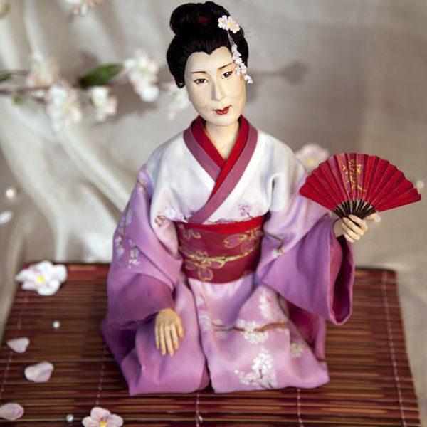 Кукла «Подари мне ветку сакуры …» (единственный экземпляр, повтора нет)