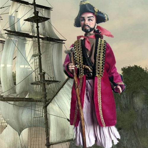 Авторские куклы Веры Бочар. Пират
