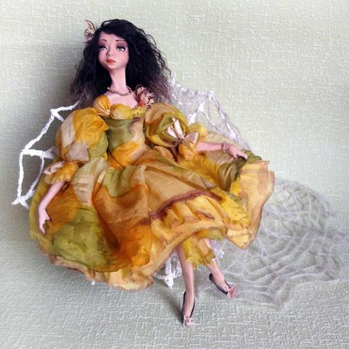 Авторские куклы Веры Бочар. Кукла